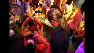 Amzing gangbang party,horny pussy drilling