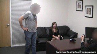BBW takes on Two Guys 4 shot at Porn Fame