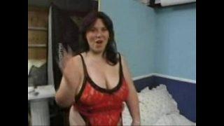 Big British Milf having hardcore fuck with double cock