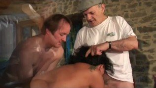 gangbang with voyeur papy