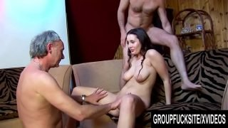 Group Fuck Site – Gorgeous Melissa Black Signs up for a Gangbang