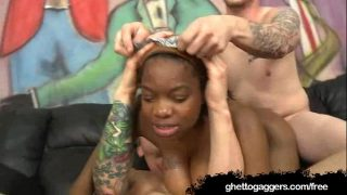 Laina Love gets Tag Teamed By White Guys