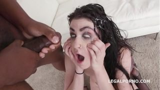 Lydia Black and Horny Balls deep Anal and she gets facialize