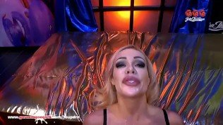 Super busty Pornstar Chessie Kay tries her first German gangbang