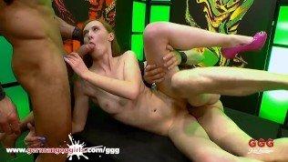 Sweet redhead Linda needs Anal pleasure – German Goo Girls