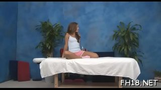 Xxx massage cute babe sabrina having hardcore fuck in massage room